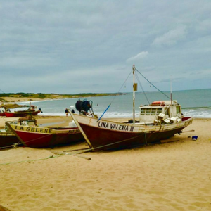Fisherman's Walk in Punta del Diablo